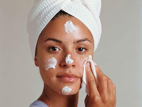 Face, Skin, Nose, Head, Eyebrow, Forehead, Cheek, Lip, Eye, Headgear,