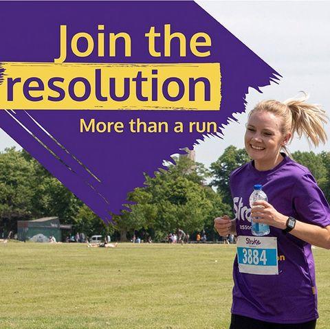 women running the resolution run