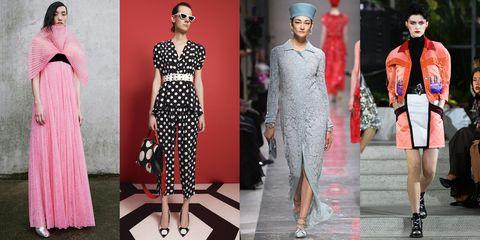 Fashion model, Clothing, Fashion, Pink, Dress, Haute couture, Street fashion, Fashion design, Style, Shoe,