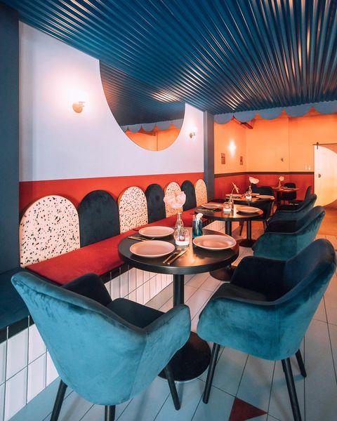 Jesstimisoara is een nieuw restaurant in Roemenië, ontworpen door architectenbureau Biancoebianca.