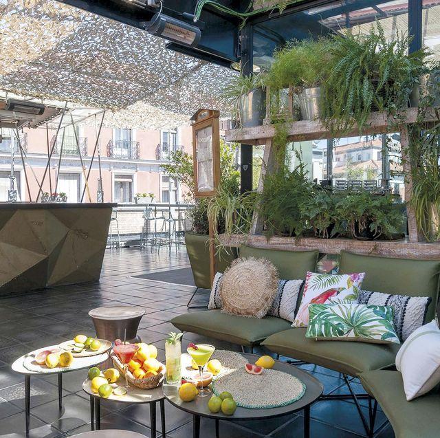 restaurante terraza la cocina de san antón en madrid