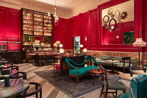 Bar restaurante Rake's en Londres