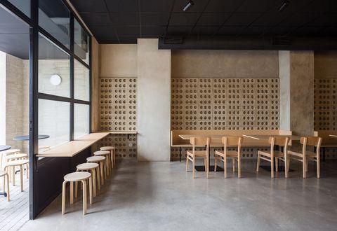 restaurante oriental imood en valencia, diseño del estudio nada