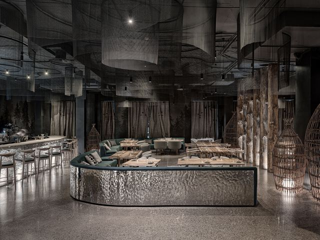 restaurante tunguska del estudio leftdesign en rusia