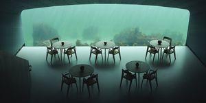 Restaurante Under en Noruega