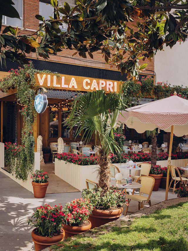 restaurante villa capri, madrid