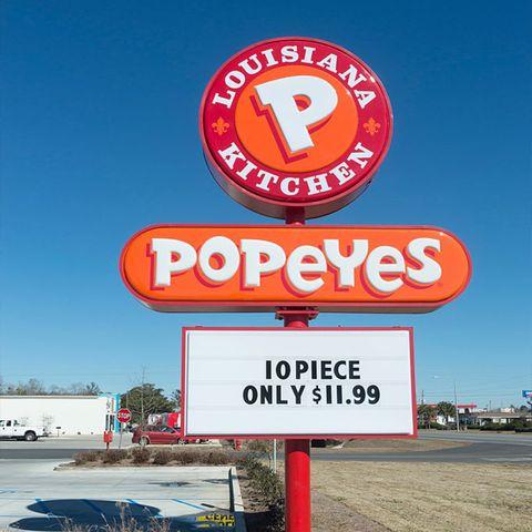 restaurants open on thanksgiving popeyes