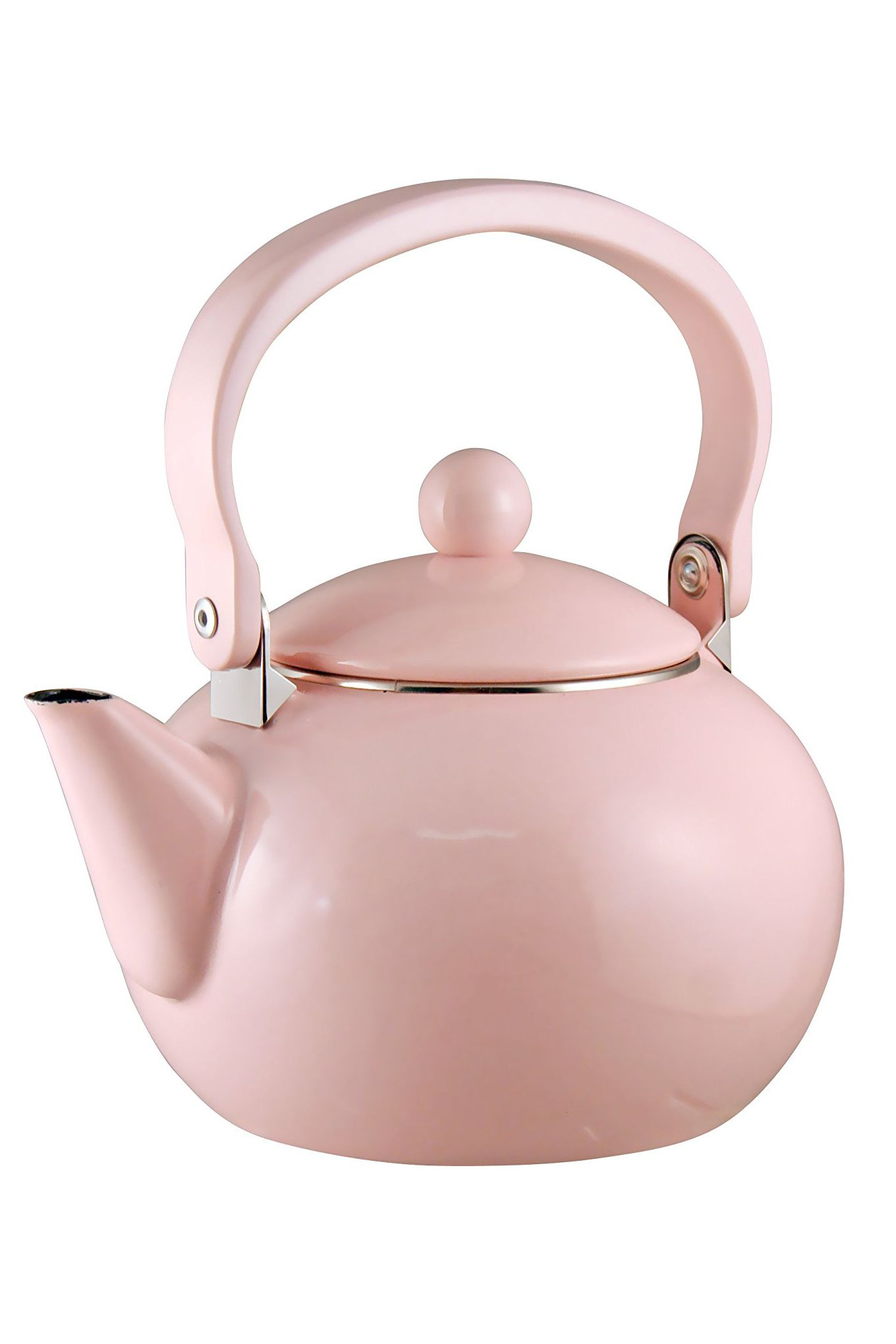 calypso basics by reston lloyd enamel-on-steel tea kettle