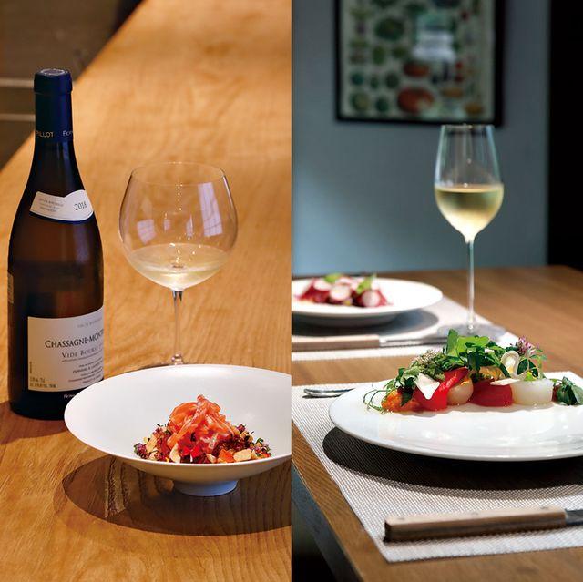 右から、ぎをん藤、ヴェルデ イタリアーノ イル ヴェーゴ,京、静華、のぐち継 カウンター席で頂く料理