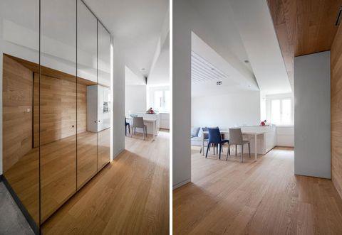 Wood, Floor, Flooring, Interior design, Wood flooring, Hardwood, Laminate flooring, Room, Wall, Ceiling,