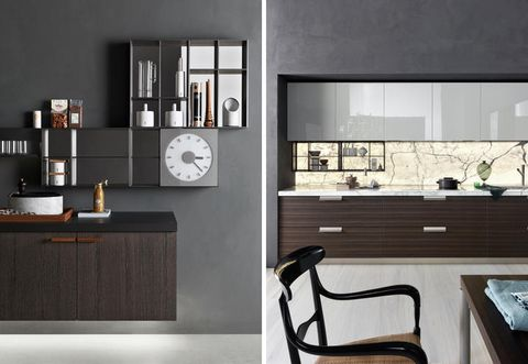 Wood, Room, Interior design, Wall, Furniture, Hardwood, Interior design, Glass, Drawer, Cabinetry,