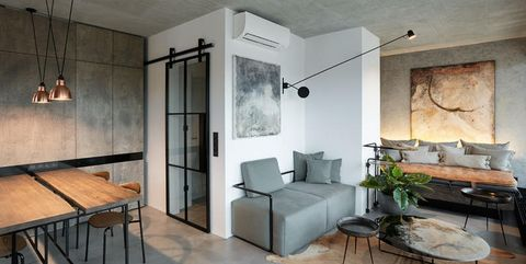 Restyling in stile industriale di un loft a Praga