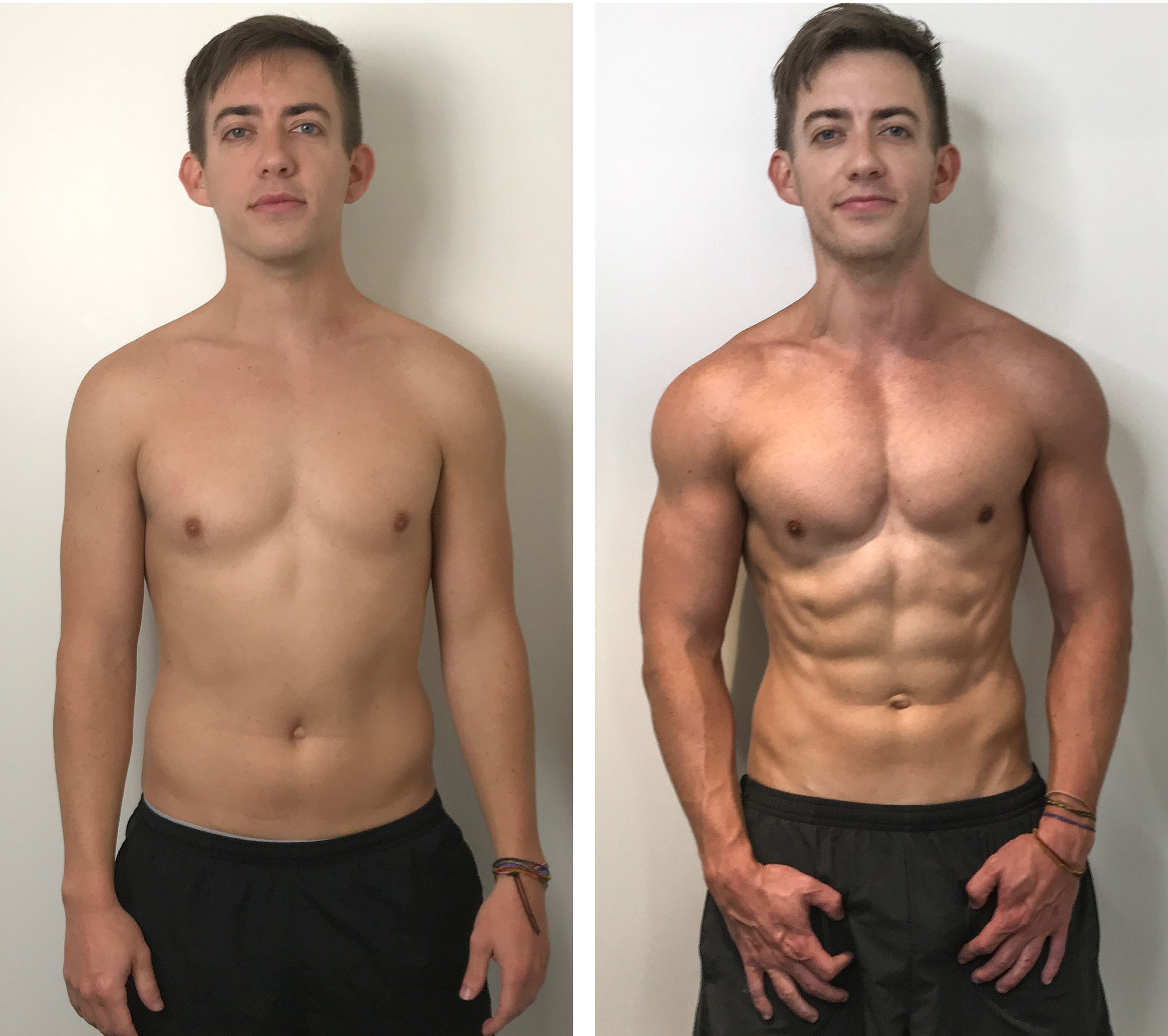 How 'Glee' Star Kevin McHale Packed on Muscle and Transformed His Body