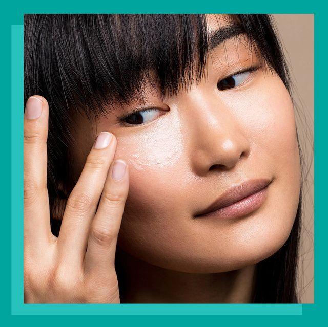 woman applying dr brandt retinol eye