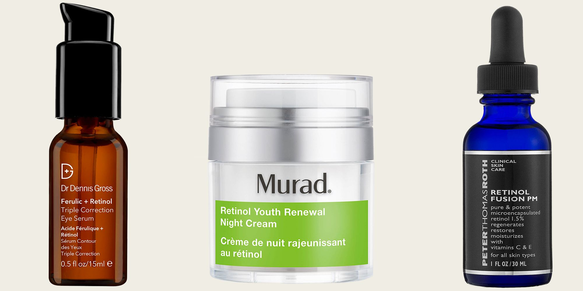 22 Best Retinol Creams Retinol Products For Acne And Wrinkles