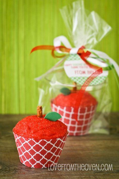 retirement party ideas apple cupcakes