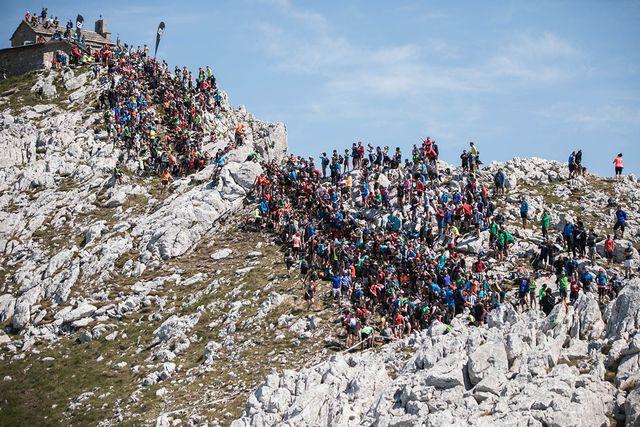 el segmento sancti spiritu de la maratón de montaña zegama aizkorri