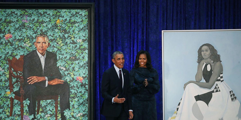 retratos obama