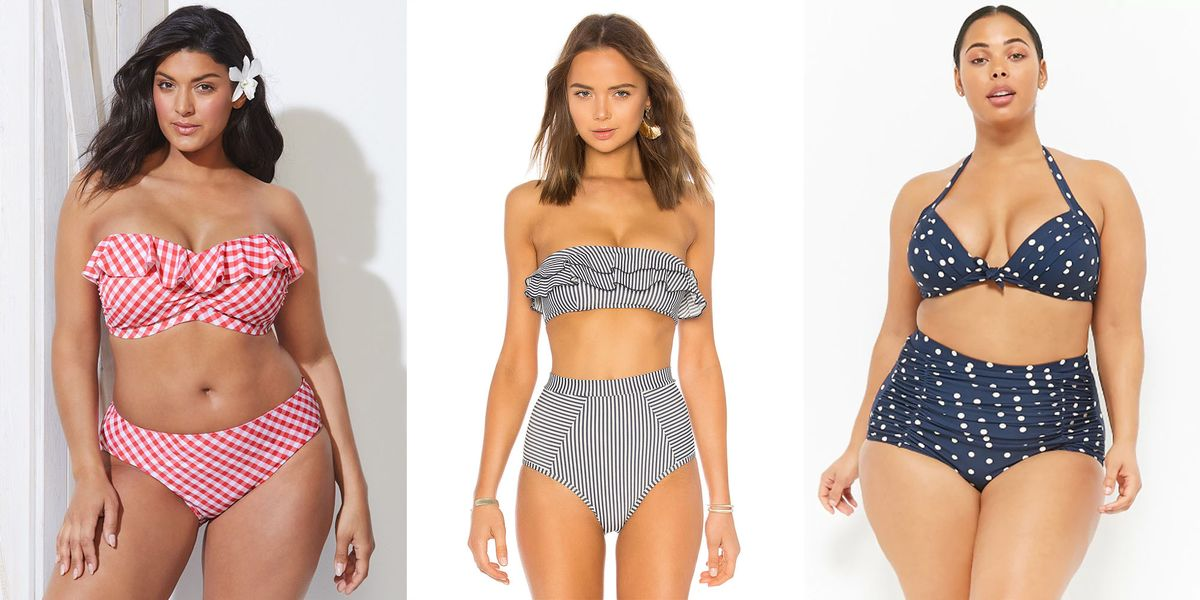 7a3ca98b0d 16 Retro Bikinis and One-Pieces That Will Make You Feel Like a Vintage  Queen - Retro Swimwear