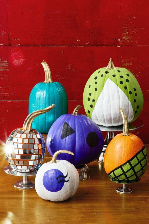 retro pumpkins jack o' lantern, halloween