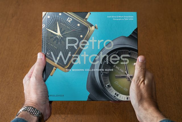 retro watches book review