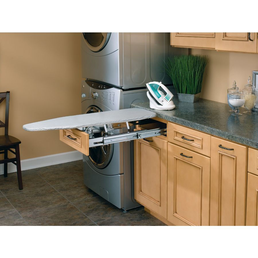 The Rev-A-Shelf Ironing Board Is The Laundry Room Hack That Will