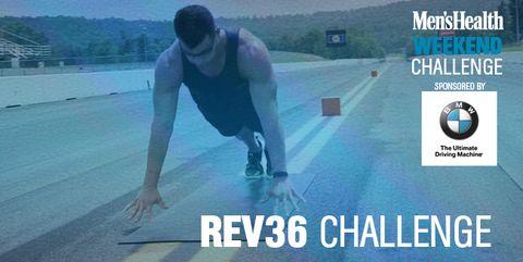 4 Exercises, 10 Minutes, 1 Tough Workout