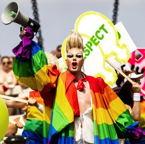 TOPSHOT-NETHERLANDS-GAY-PRIDE-PARADE