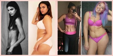 13 women whose 'reverse' body transformations are inspiring