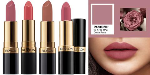 口紅,lipstick, REVLON,乾燥玫瑰,熱門唇色,玫瑰土色調,REVLON#445, Dcard, REVLO經典璀璨膏,beauty