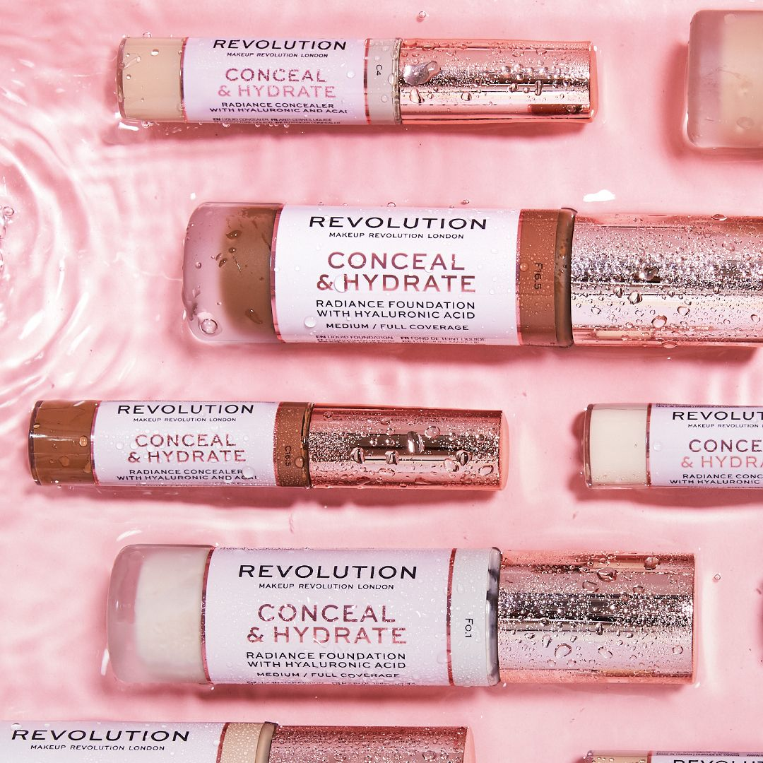 Revolution Conceal \u0026 Hydrate Foundation
