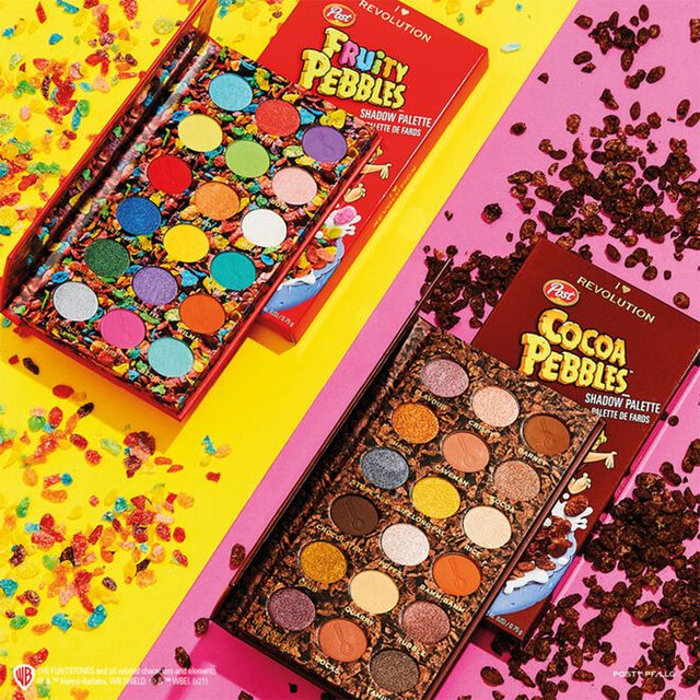 revolution beauty post consumer brands fruity and cocoa pebbles makeup line