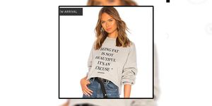 revolve being fat is not beautiful its an excuse jumper