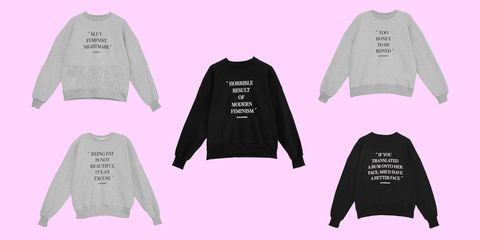 71986537799b Revolve is Being Criticised for Selling a Jumper That Says