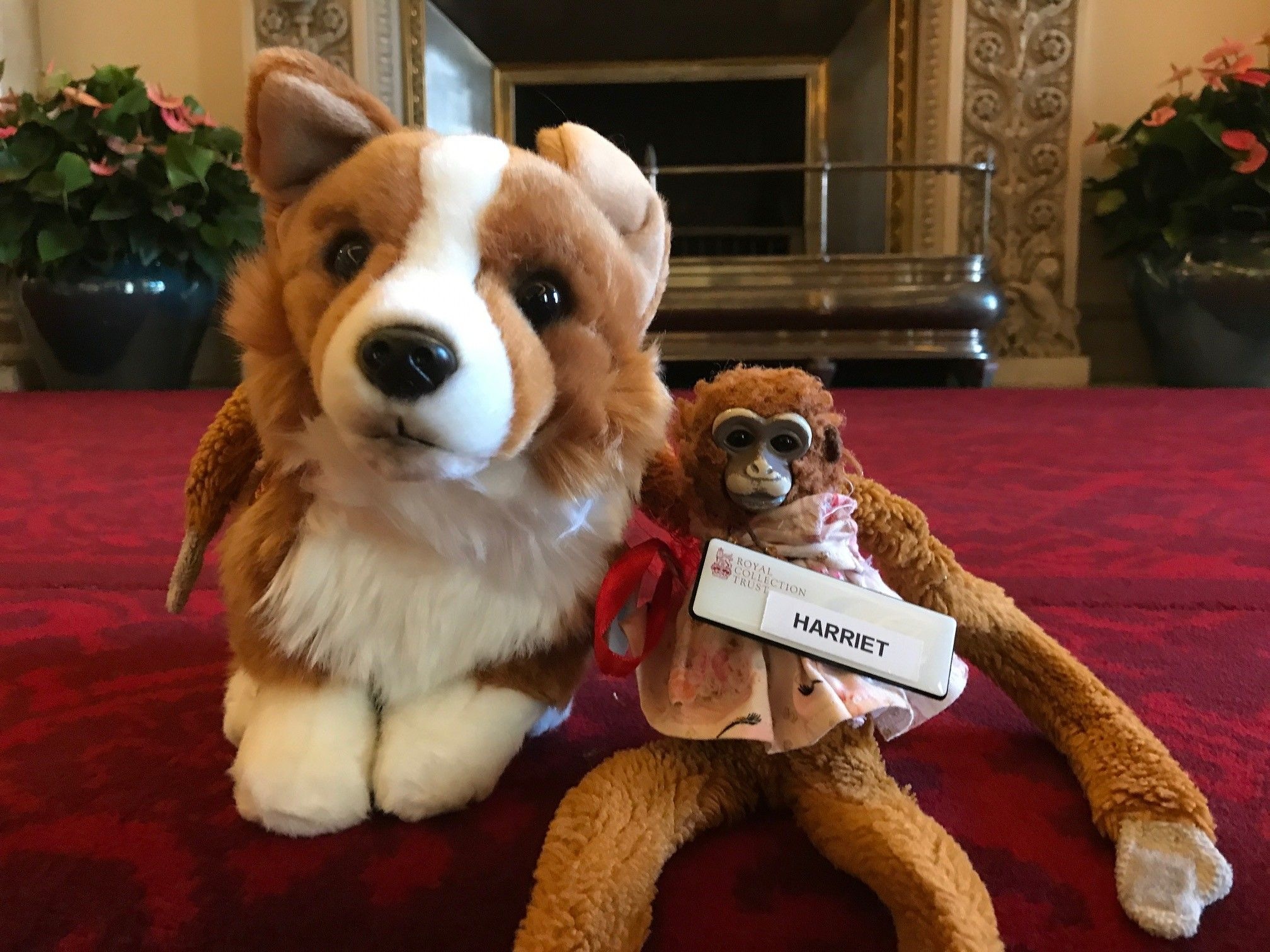 Buckingham Palace Staff Return a Child's Toy Monkey, After Giving It the Royal Treatment