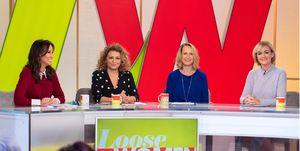'Loose Women' TV show, London, UK - 02 Jan 2019