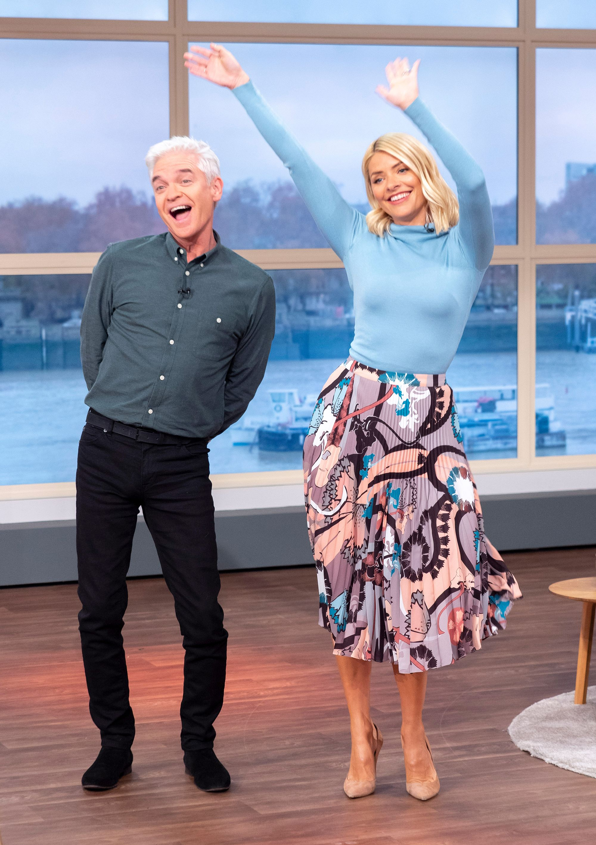 00a5608b7d Philip Schofield gave this hilarious welcome to Holly Willoughby on This  Morning