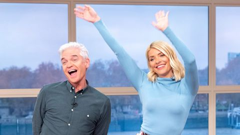 f3fc51bf00 Philip Schofield gave this hilarious welcome to Holly Willoughby on ...