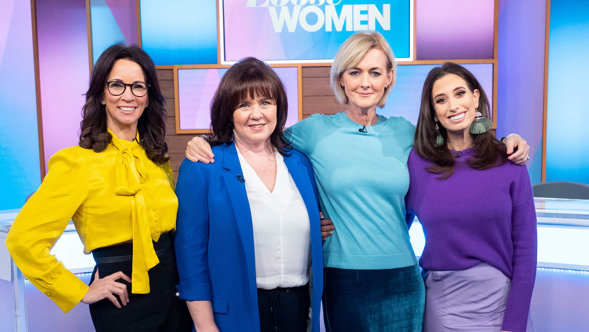 Loose Women lead the pack of celebrities braving the 10 Year Challenge
