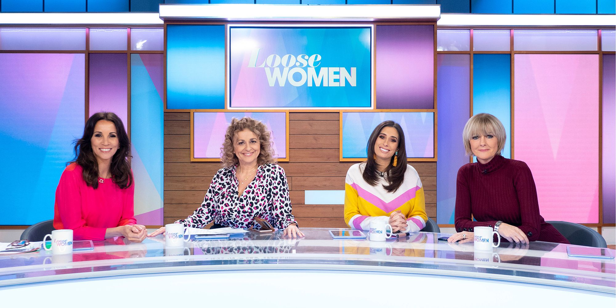 'Loose Women' TV show, London, UK - 17 Jan 2019