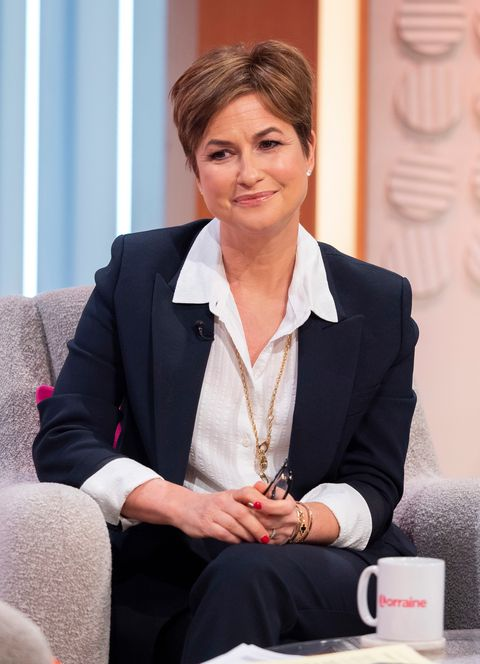 Emma Forbes menopause on 'Lorraine' TV show, London, UK - 31 Jan 2019