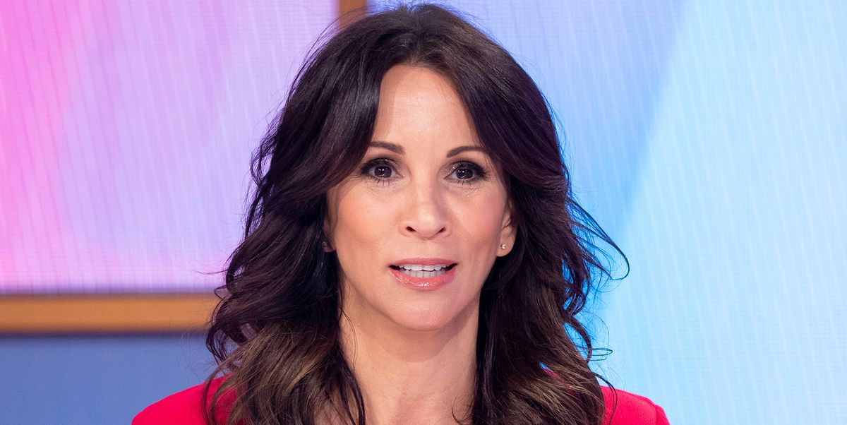 9301798e30877 Andrea McLean's show-stopping red dress is our Valentine's outfit of dreams