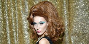 AW19 Moschino Hair