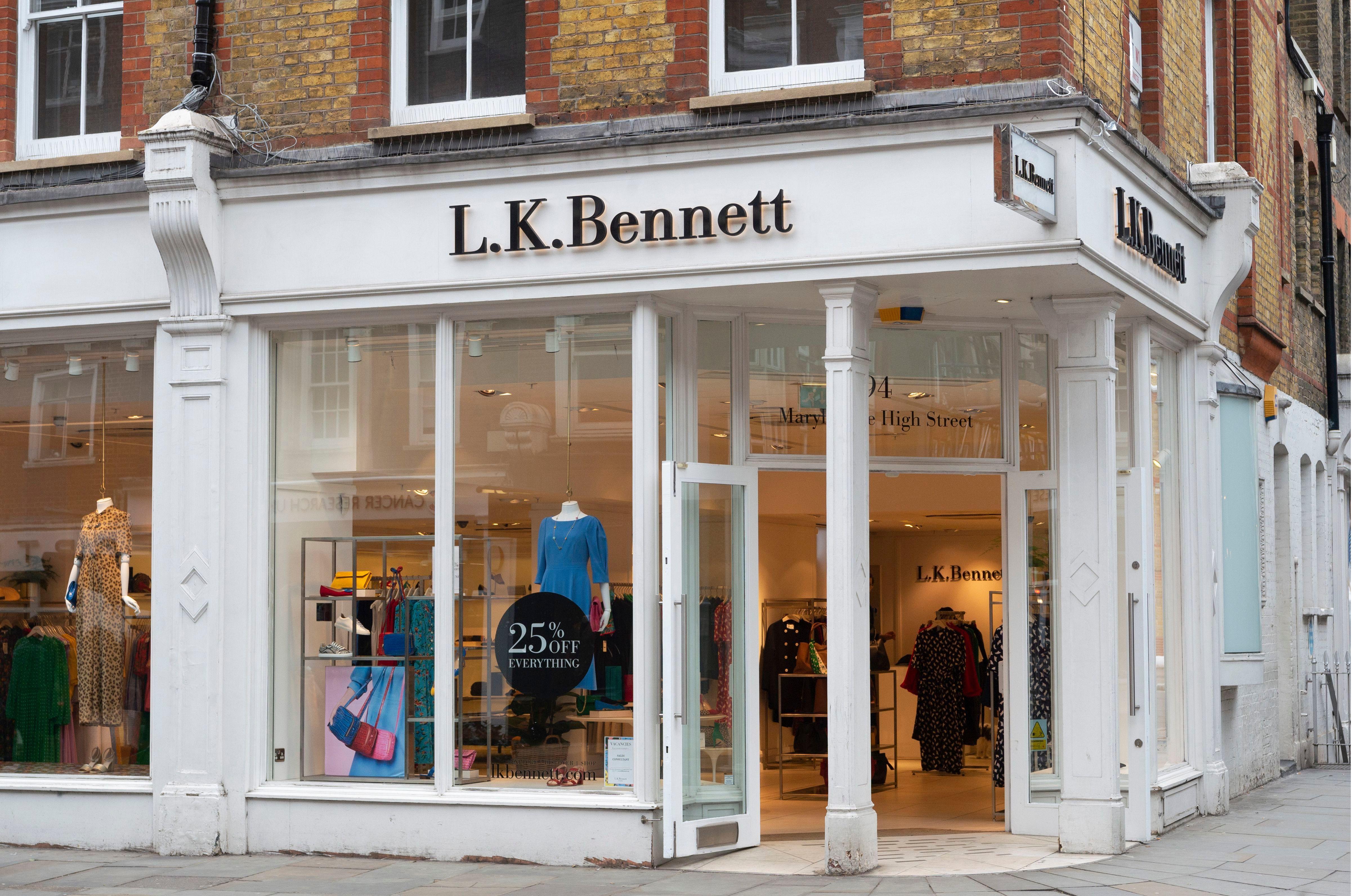 Fashion brand L.K.Bennett enters administration