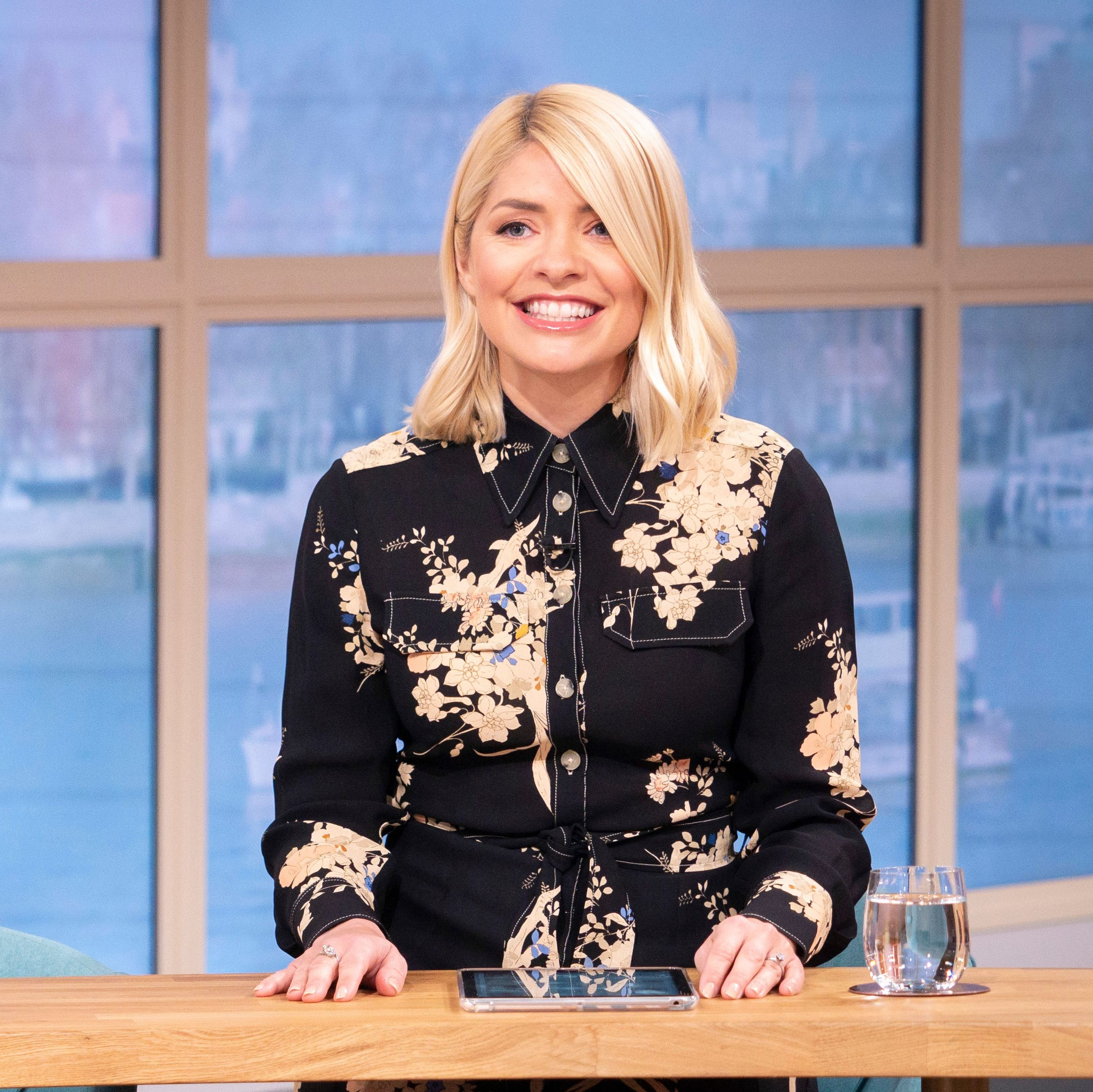 Holly Willoughby shares rare photo of all three children and husband Dan