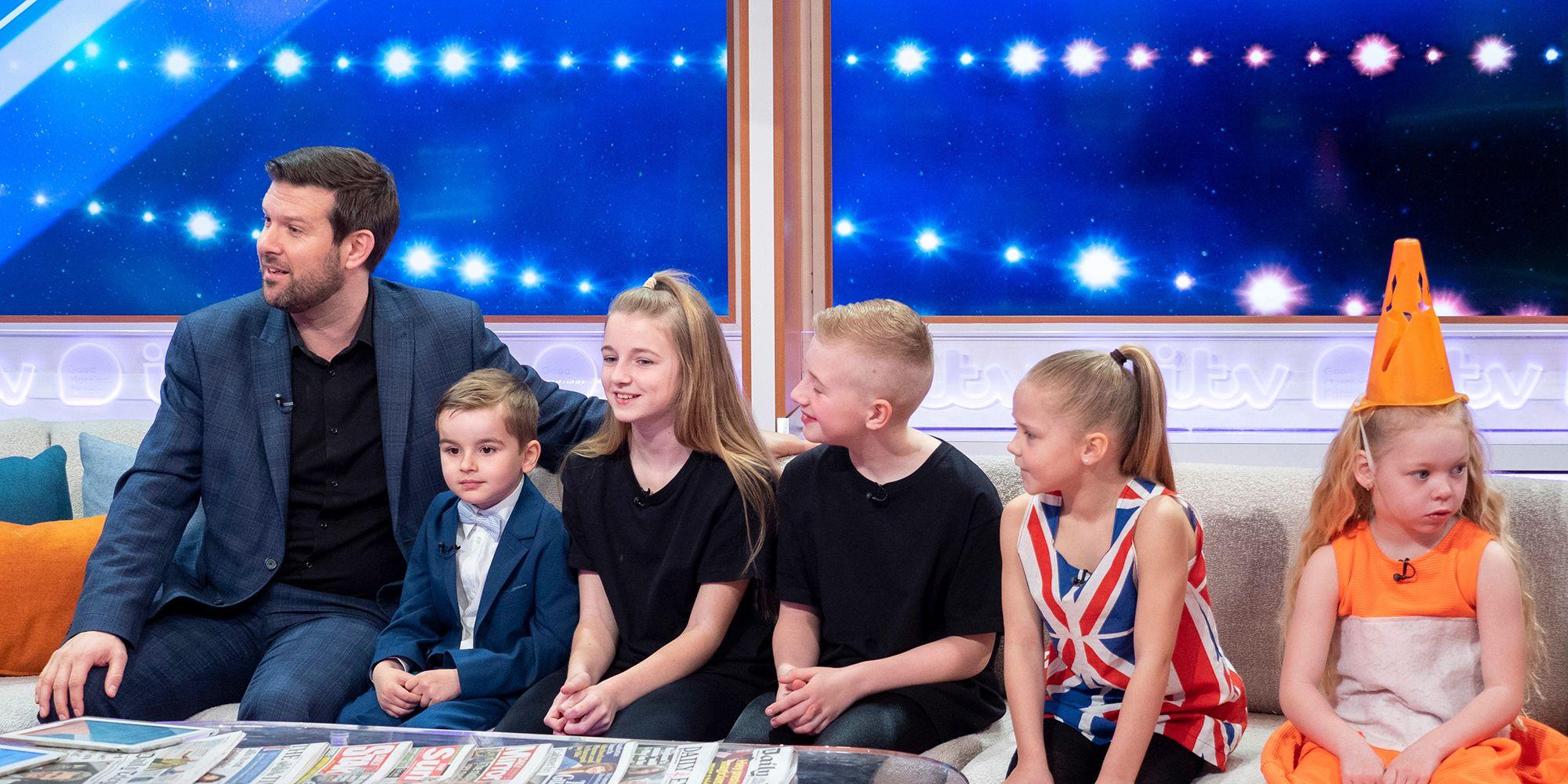 'Good Morning Britain' TV show, London, UK - 08 Apr 2019