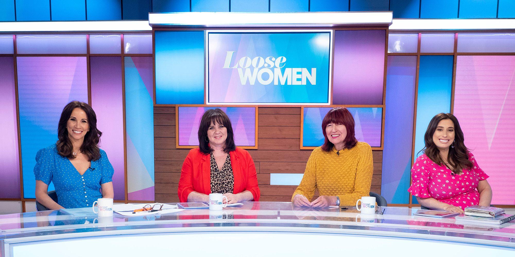 'Loose Women' TV show, London, UK - 10 Apr 2019