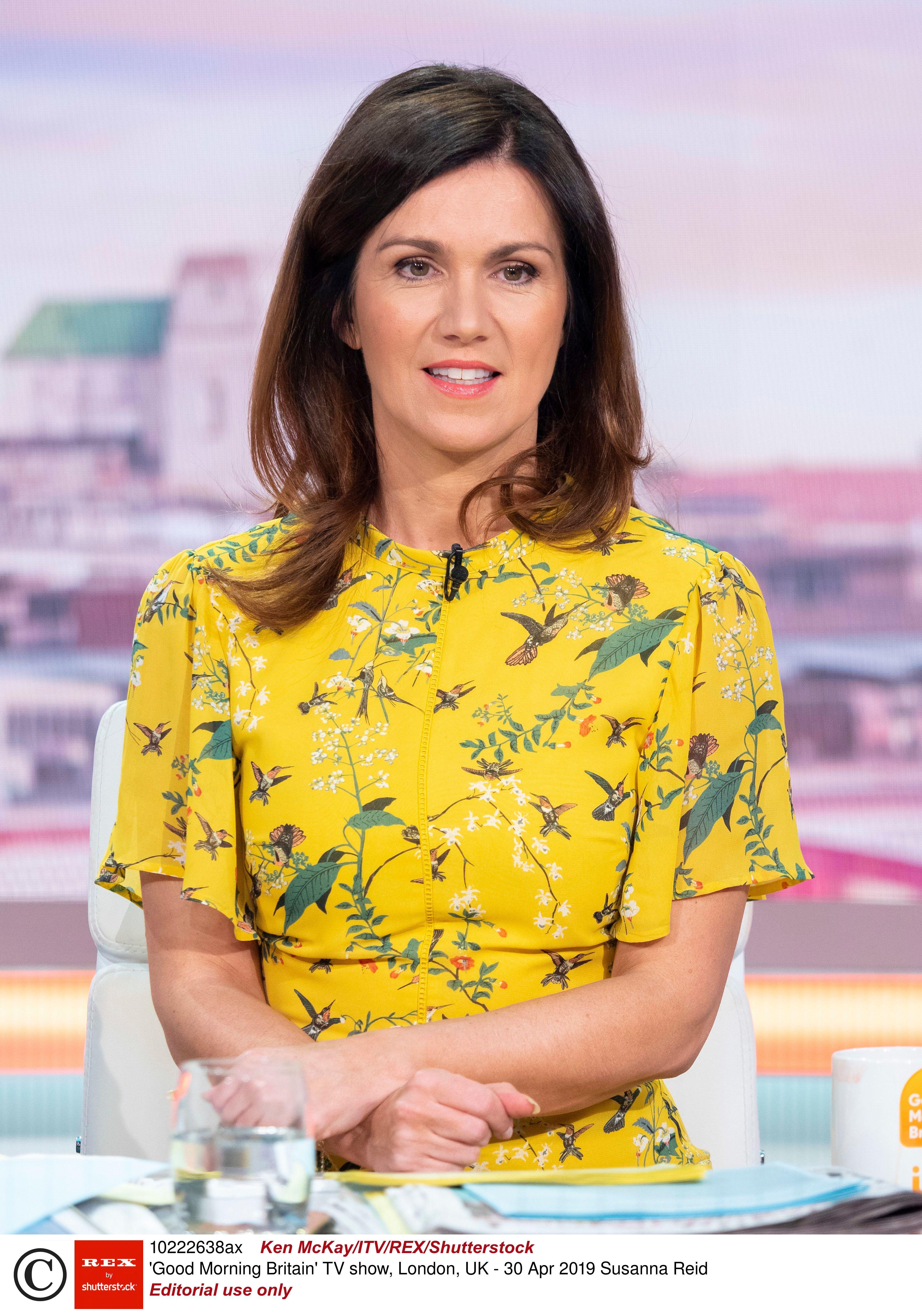 c96b20c688c0 Susanna Reid's yellow floral Oasis dress is so flattering and versatile