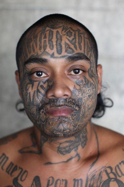 Salvadoran facial features