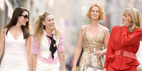 Clothing, Fashion model, Pink, Fashion, Red, Skin, Beauty, Dress, Blond, Fashion design,